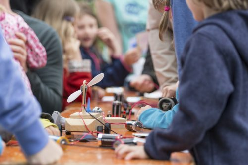 The family science day will feature a jam-packed programme