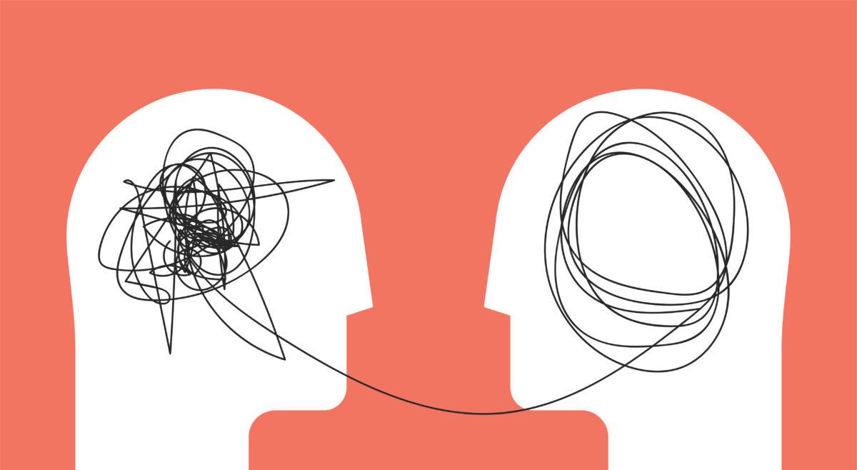 Drawing visualising mental health and social media use